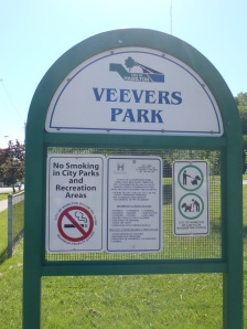 Veevers Park, named after the Veevers family