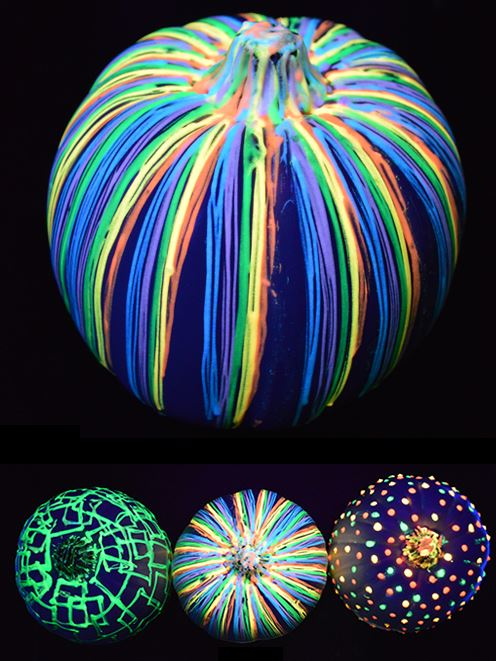 Go green this halloween with our eek o friendly tips for Glow in the dark paint for real pumpkins